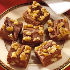 Chocolate + Cream Cheese + Rum = Excellent Fudge chocolates, almonds, fudge recipes, christmas candy, bar cookies, chocolate candies, treat, the holiday, cream chees