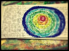 Briana - orange spiral arts