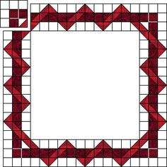 awesom howto, quilt borders, log cabins, small block pattern, entwin border
