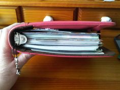 a very stuffed Day Timer Desk organiser - just how much does it weigh?? #filofax #daytimer