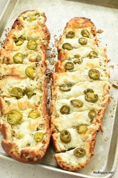 jalapeño popper cheese bread