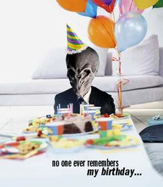 No one ever remembers my birthday (doctor who humor)