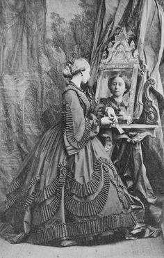 Princess Alice. 1861. [Album: Photographs. Royal Portraits, vol.48]   Royal Collection Trust