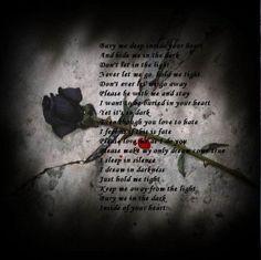 black valentine poems for her