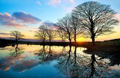 news, sunsets, isle of mann, winter sunset