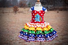 Rainbow Dash Dress -