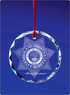 Lane County Sheriff's Office Fantasy Ornament