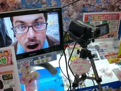 Bill in Akihabara -- Electric Town -- in Tokyo