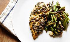 On the Menu: Chicken with Scallion Chimichurri & Garlic Green Beans