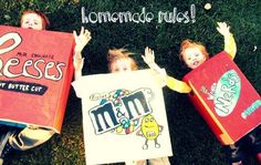 Homemade Kids Costumes