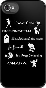 Disney lessons learned iPhone case!!!  Can someone I know who has an iPhone PLEASE get this!!!