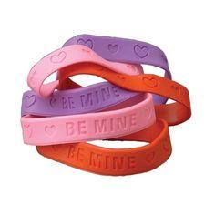 Valentine Rubber Band #Bracelets from U.S. TOY on Catalog Spree #Valentine's Day