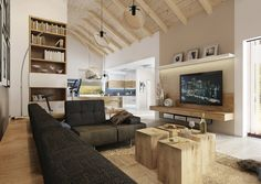 modern country houses, country houses interior