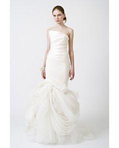 vera wang wedding dresses 2011 mermaid