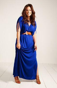 #plus #size Maxi Dress