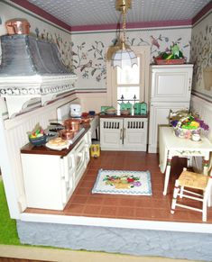 kitchen in display box... love the details
