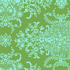 Amy Butler - Soul Blossoms Organic Cotton - English Garden in Pine