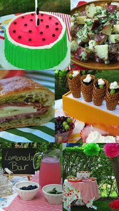 Picnic Party  www.savvymom.ca