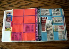 Building a coupon binder