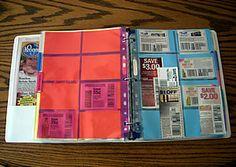 Building a coupon binder