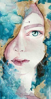 those eyes...Molly Brill Watercolor Portraits