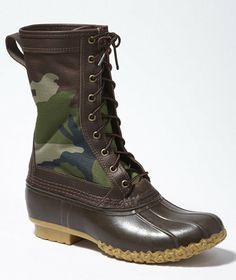 Men's Camo Maine Hunting Shoe LL Bean