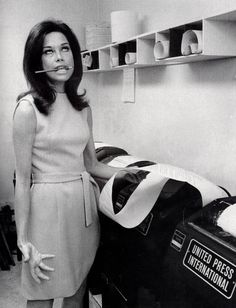 Mary Tyler Moore. #matchbookgirl