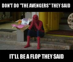 Funny, The Avengers!