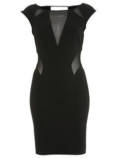 MISS SELFRIDGE Black Shard Bodycon RRP: £39.00