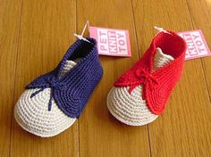 Reference  Crochet baby booties shoes