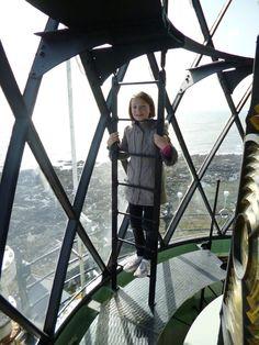 Helen MacRandal discovered St John's Lighthouse at St John's Point in Killough, County Down for EHOD