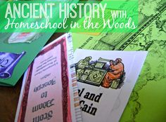 Take a look at how we're incorporating the Old Testament Activity Pak from Homeschool in Woods in our ancient history lessons.