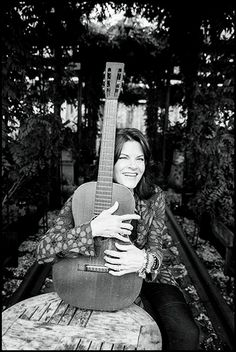 Photo Credit: Danny Clinch. Singer-songwriter Rosanne Cash posed for us at the McKittrick Hotel in New York City.
