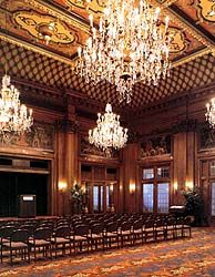 The Empire Room in the Joseph Smith Memorial Building- this is our venue!