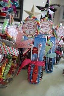 candi land, birthday parties, candyland, goodie bags, candi bday, brush, parti favor, bday parti, goodi bag