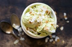 avocado-coconut ice