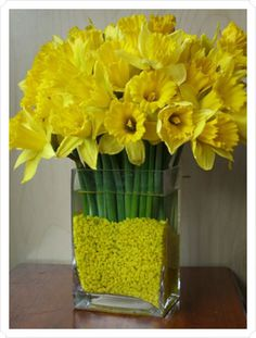 I love daffodils... there will be a million of these at our wedding :-)