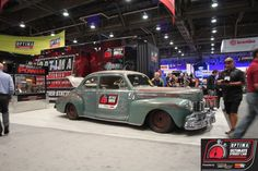 Jonathan Ward's #Derelict 1946 Lincoln Club Coupe will compete in the 2013 #OUSCI