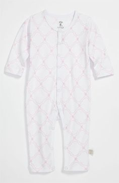 Little Giraffe Print Coveralls (Infant) | Nordstrom