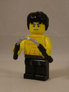 Lego Minifigure Bruce Lee