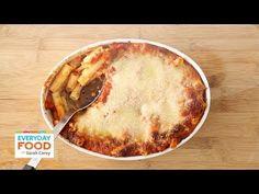 ▶ Baked Ziti - Everyday Food with Sarah Carey - YouTube