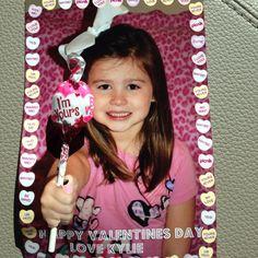 Kylie's valentines