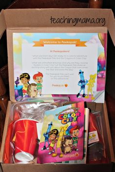Teaching Mama: Peekapak Review! A literacy-based craft box. Pinned by SOS Inc. Resources. Follow all our boards at pinterest.com/sostherapy/ for therapy resources.