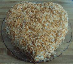 Coconut Cream Poke Cake is a simple & delicious dessert! #FlourMeWithLove #pokecake #coconut #cream