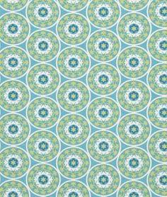 Robert Allen @ Home Tilescene Sky - $9.7 | onlinefabricstore.net