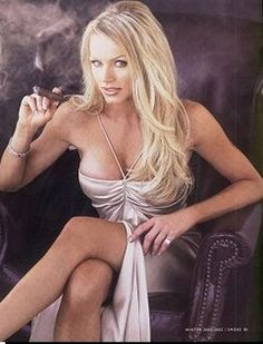 sexy female celebrities smoking cigars