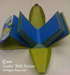 #papercraft #Scrapbook #tutorial  - #minialbum in a bag