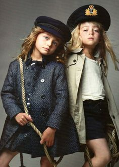 Fashionistas in the making...
