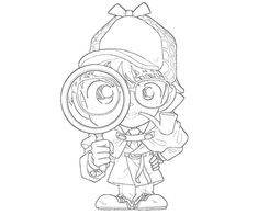 Awesome Detective Conan Coloring Pages