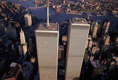 Overview of World Trade Center as it was.